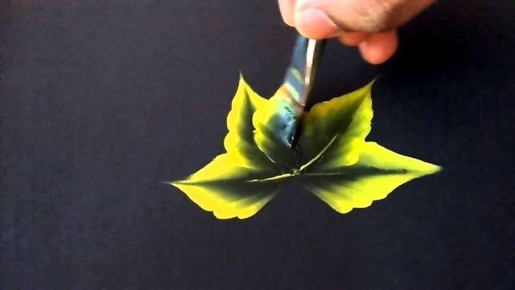 One stroke leaves