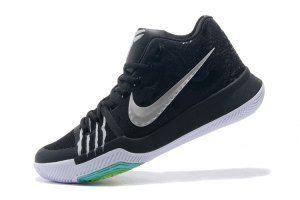 42994b8ddb0c Mens Nike Kyrie Irving 3 Black Silver Bruce Lee Basketball Shoes ...