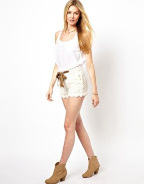 Pepe Jeans Lace Shorts