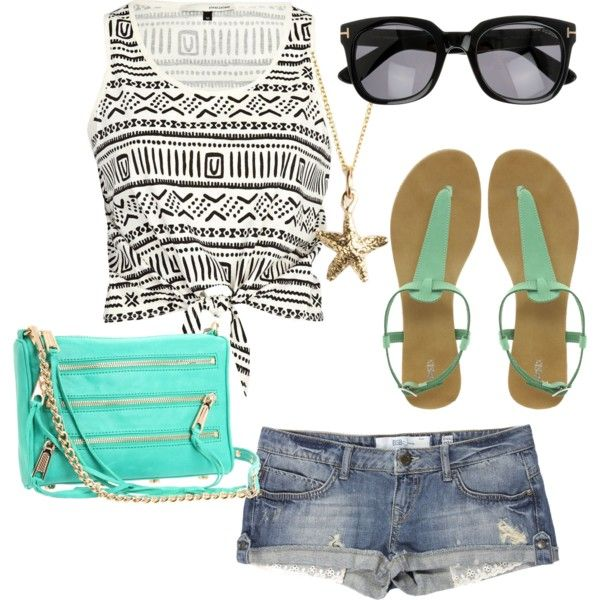 """""""Tribal, Lace, and Neon Blue"""" by emmamegla11 on Polyvore"""
