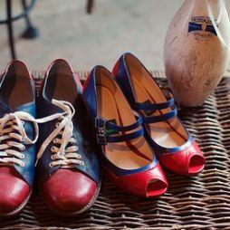Esküvői bowling cipők ,/Wedding bowling shoes
