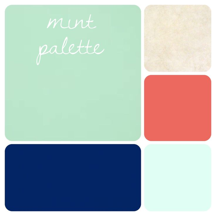mint green color palette beautiful navy dark coral sea foam and tan - Mint Green Color Scheme