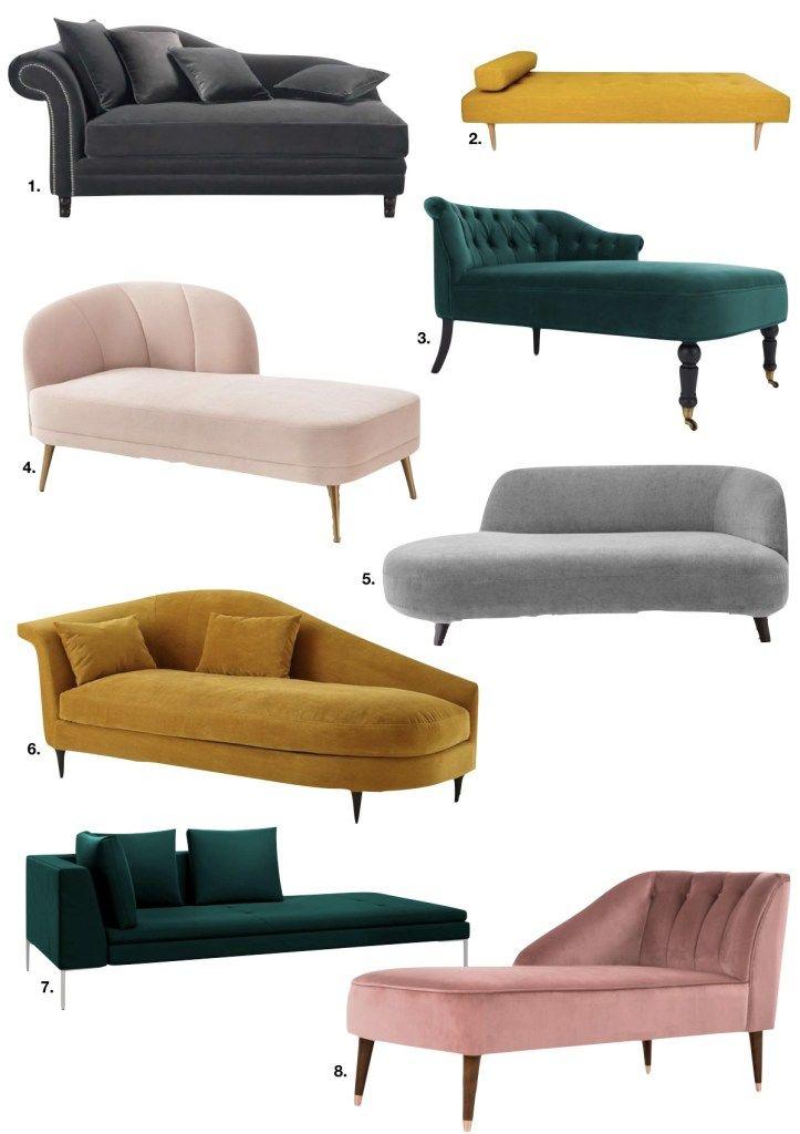 Meridienne Ou La Trouver Blog Deco Clem Around The Corner Canape Art Deco Projets De Mobilier Design Interieur Salon