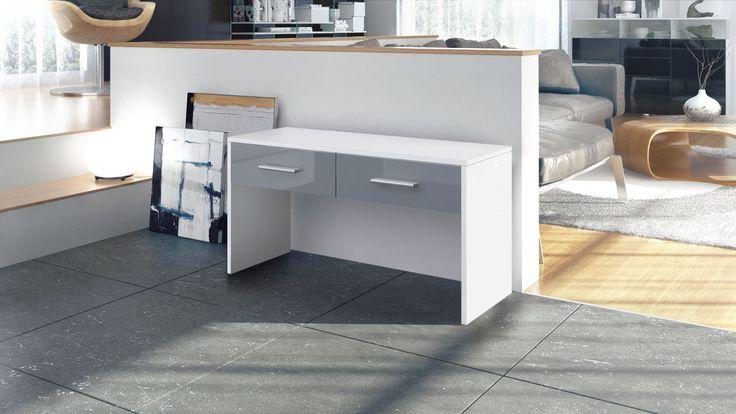 Sitzbank Luna mit praktischen Schubkästen und verschiedenen Griffvarianten von vladon.de