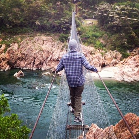 20s on the Road: Abel Tasman National Park and the longest swing bridge in New Zealand