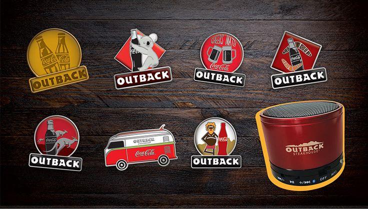 O Outback Steakhouse® e a Coca-Cola® se uniram para presentear seus clientes em uma promoção inédita. Até 1º de dezembro, na compra de uma refeição do Lunch Menu + um refrigerante das marcas Coca-C…