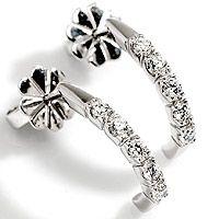 Allianse diamantørepynt 0,50 carat | Eternità - Eternità Allianseørepynt 0,50ct tw/vs