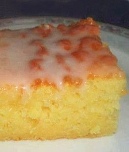 Best Lemon Sheet #Cake recipe with lemon glaze {made with buttermilk}