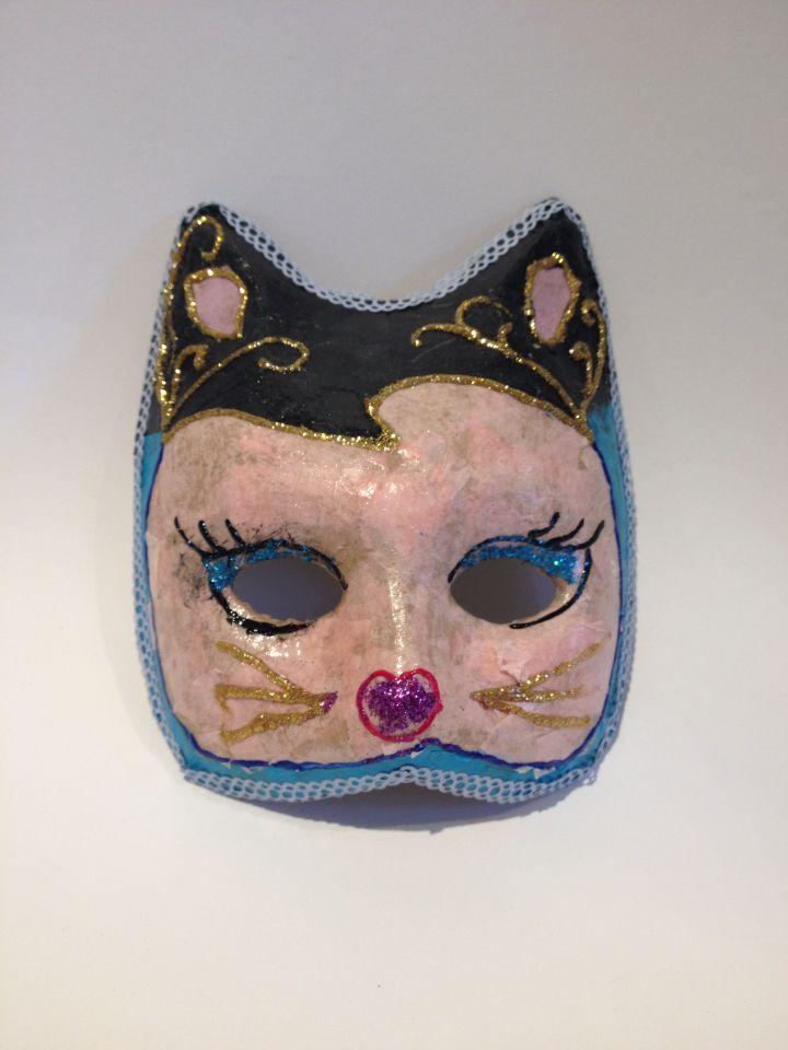 Kinderworkshop maskers maken Venetiaanse stijl
