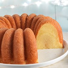 Caribbean Rum Cake: King Arthur Flour