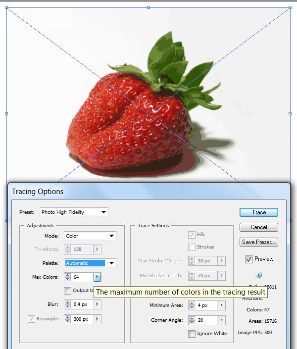 Quick Tip: How to Use the New Image Trace in Adobe Illustrator CS6 | Vectortuts+ #AdobeIllustrator
