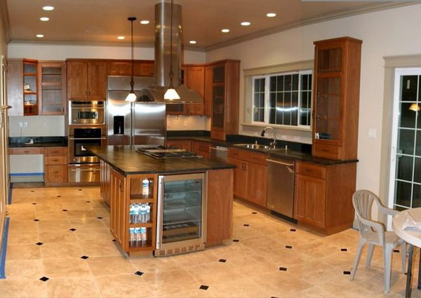 1000 ideas about kitchen floor plans on open