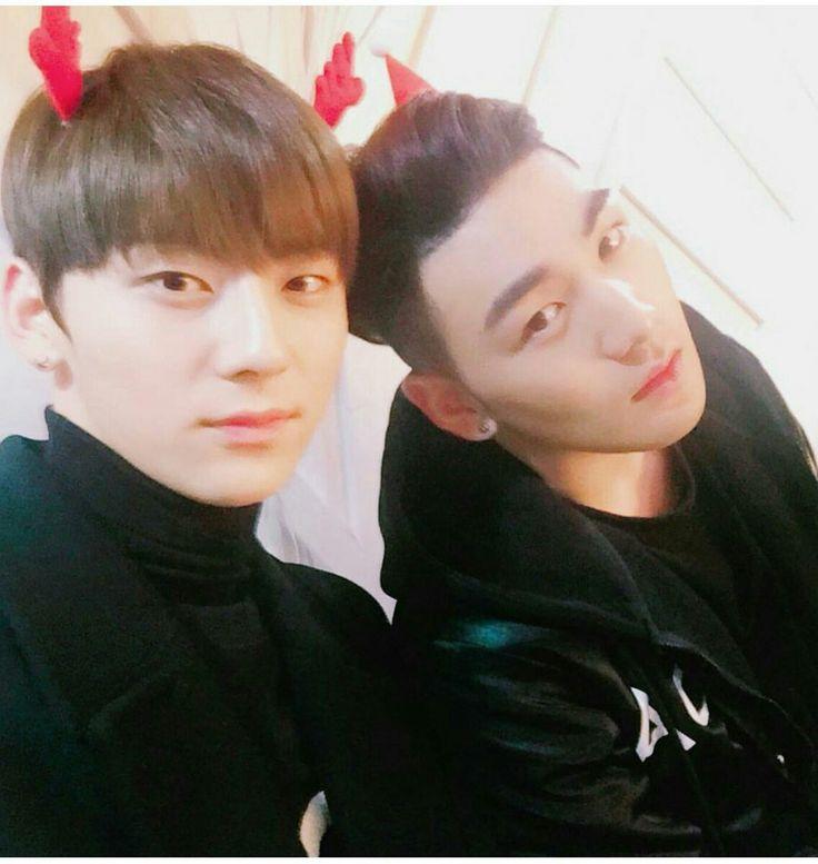 Minhyun instagram update #nuest #baekho