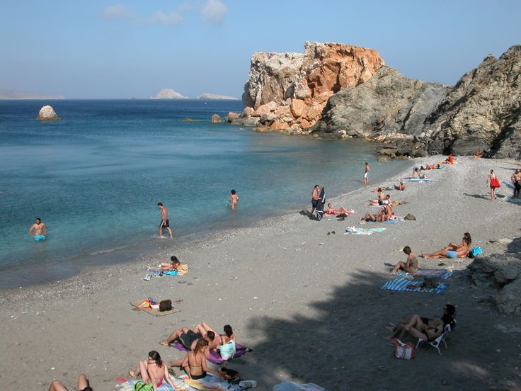 Vardia beach, 290m from Vrahos Boutique Hotel.