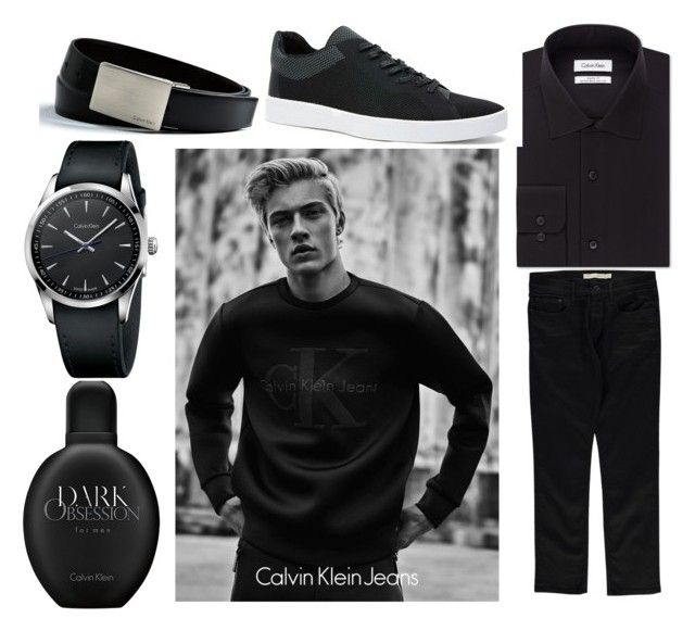 """""""Calvin Klein #Obsession"""" by mkfashionfactory ❤ liked on Polyvore featuring Calvin Klein, mens, men, men's wear, mens wear, male, mens clothing and mens fashion"""