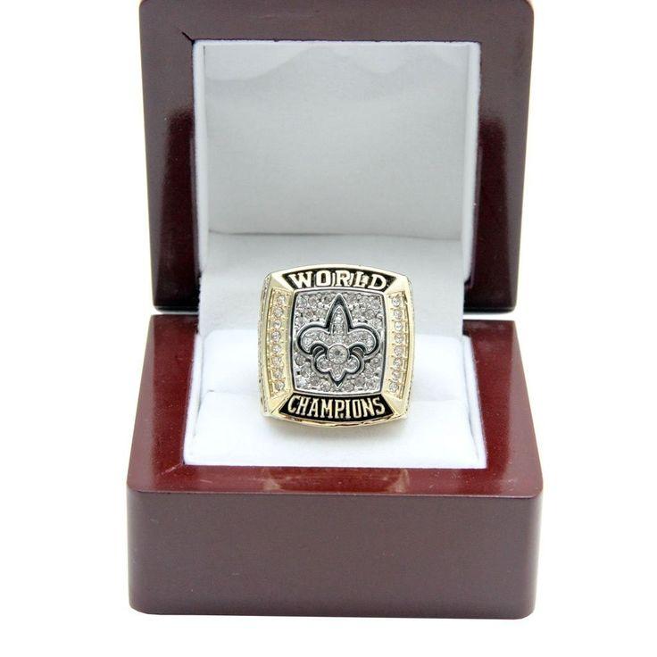 New Orleans Saints 2009 NFL Super Bowl XLIV Championship Ring - Football