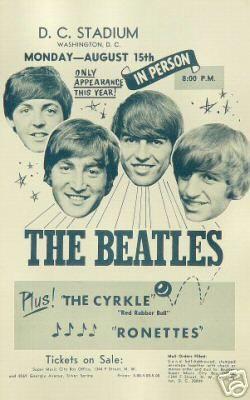 The Beatles - Live Washington.