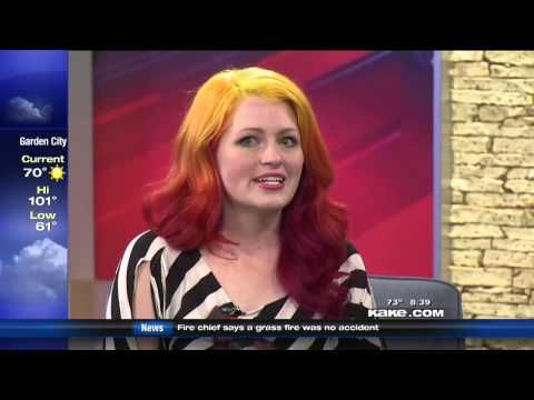 My interview with Good Morning Kansas about the tutus!