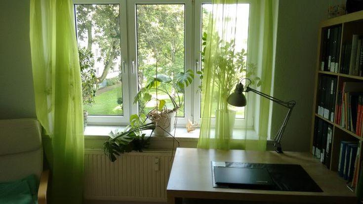 Kinderspielhaus Holz Holland ~ Grüne Vorhänge in schönem Leipziger WG Zimmer Wohnung in Leipzig