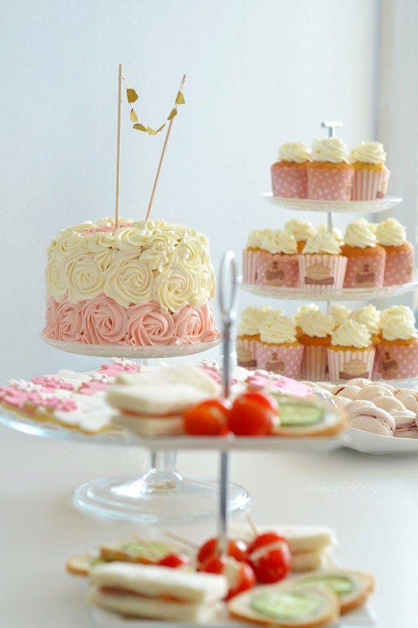 Rose Cake Chocolat Blanc Framboise