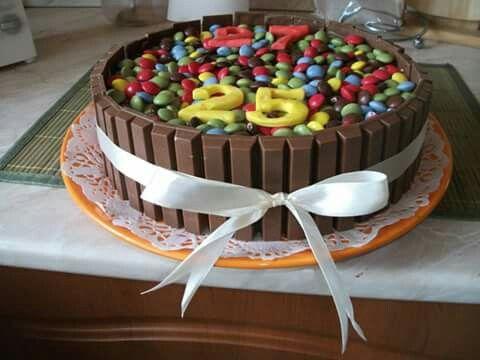 Kit -kat torta!