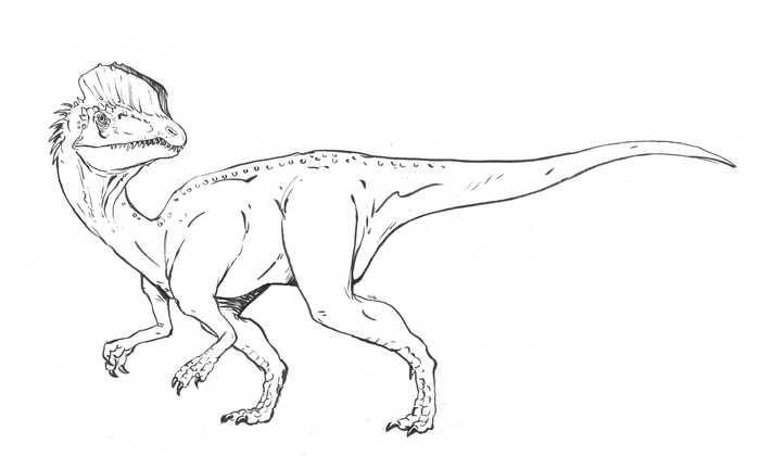 Dilophosaurus Dinosaur Coloring Page Dinosaur Coloring Pages Dinosaur Coloring Dinosaur Coloring Sheets