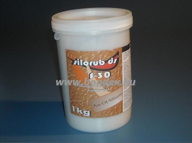 Cukrászati kétkomponensű önthető szilikon Silorub f-30 1kg