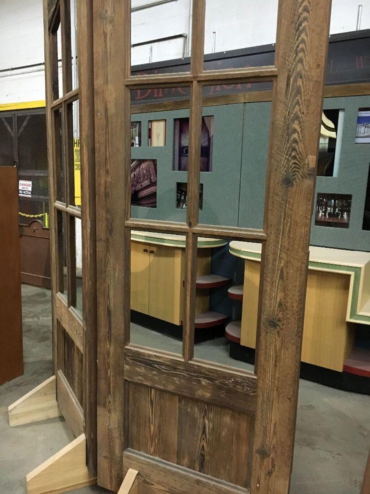 6 french doordistressed ebay french doors wood