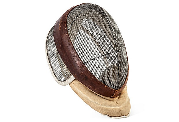 C. 1920 Wire Fencing Mask on OneKingsLane.com