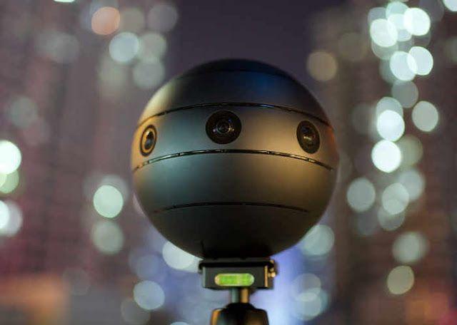 La cámara 3D VR  'SONICAM' captura contenido visual en 360 grados