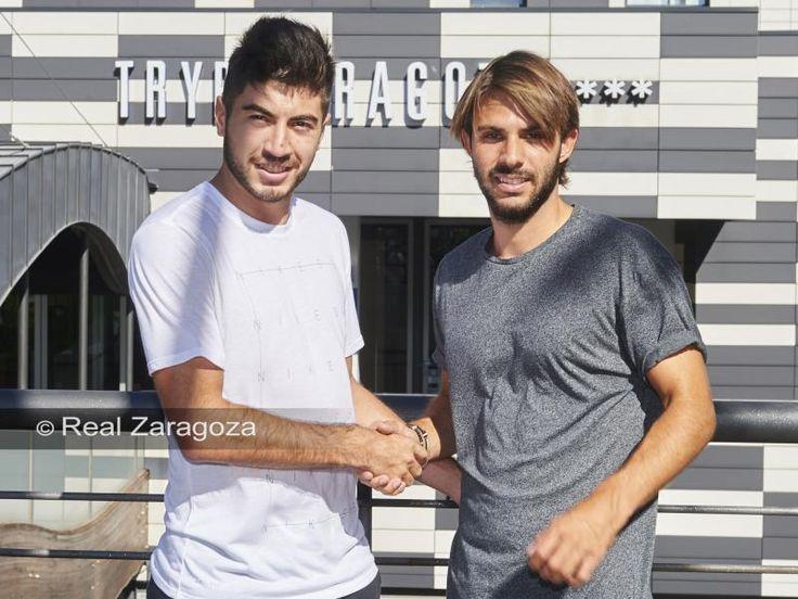 Llegada de Papunashvili y Buff a Zaragoza   Real Zaragoza Web Oficial