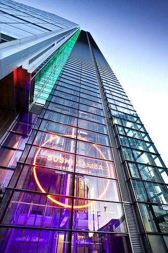 sushi samba london heron tower liverpool street station