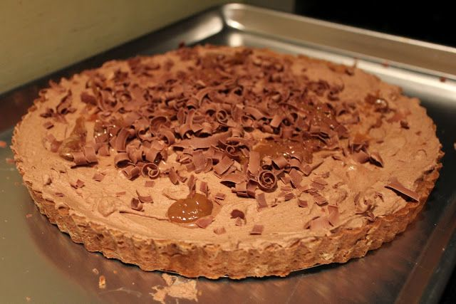 Joanne Chang's Milky Way Tart* | Pies and Tarts | Pinterest