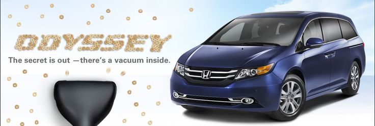 2014 Honda Odyssey - Should have waited to get our Odyssey.  Internal Vaccuum!!  Wow!