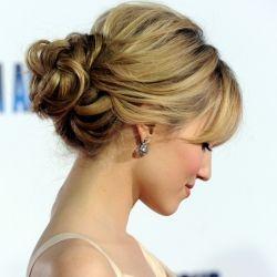 Chignon: Hair Ideas, Weddinghair, Hairstyles, Bridesmaid Hair, Hair Styles, Wedding Ideas, Makeup, Updos