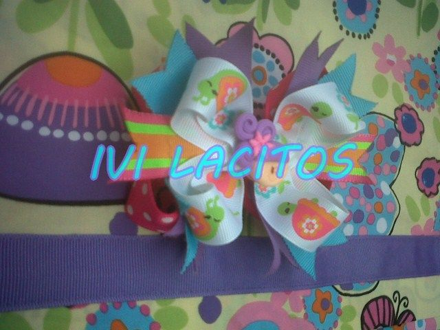 Lazo multicintas, Hair bows