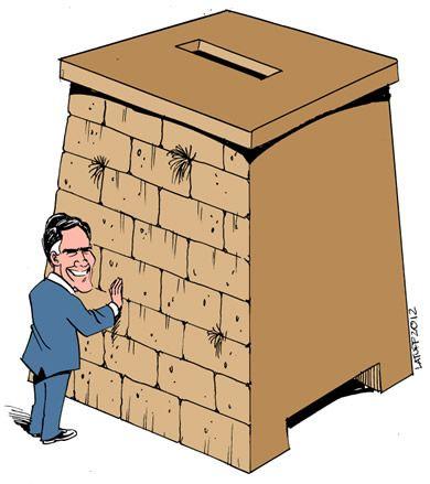 El Candidato a la presidencia de EEUU Mit Romney, se humilla ante el lobby sionista