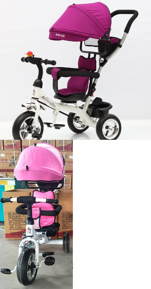 34053e8d96a 1970-Now 11746: 3-In-1 Baby Girl Tricycle Stroller -> BUY IT NOW ONLY: $59  on #eBay #tricycle #stroller