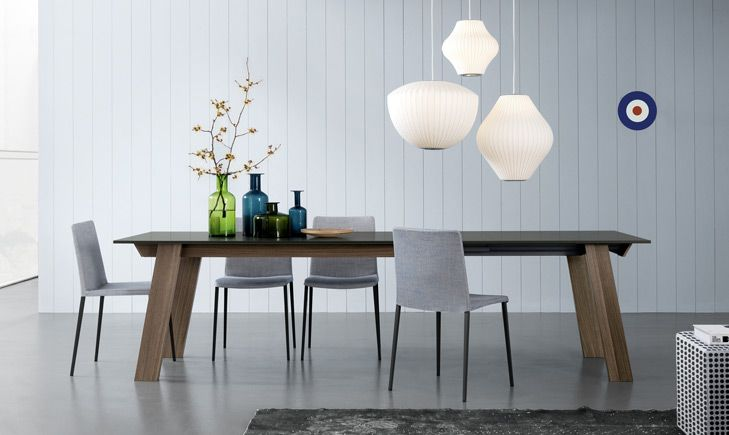 Victor Table (Side View) | Jesse SF - modern furniture, italian furniture design from Jesse Italy. Exclusive San Francisco Bay Area authorized dealer