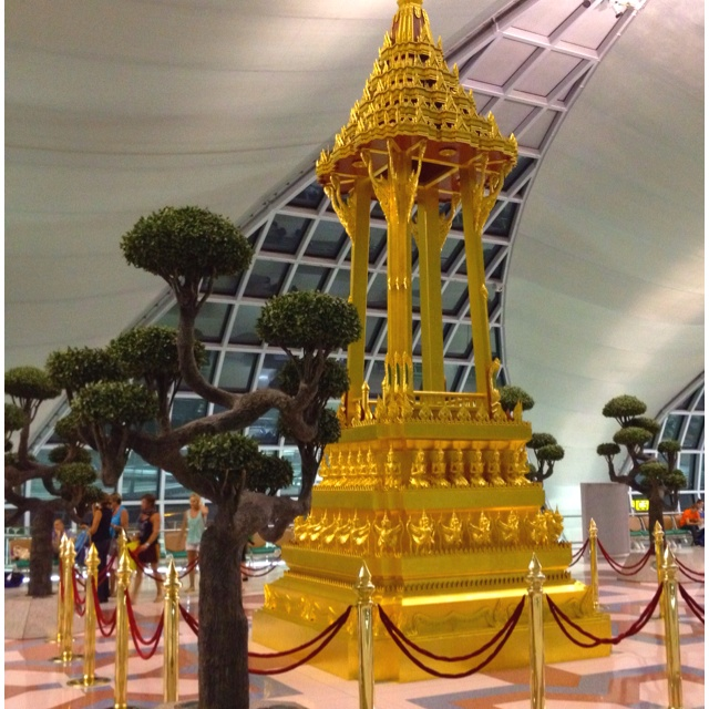 Temple in the terminal