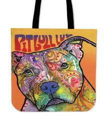 """Pit Bull Series II Tote Bag $29.99- $12.95Pit Bull Series II Tote BagsAre you a PittieOwner who loves their Dog? Then these custom designed Premium Linen Tote Bagsare a MUST HAVE! Our Premium Line Tote Bags are hand sewn using durable, yet lightweight poly cotton fabric. Each bag features a double sided print and is finished with a sturdy 1"""" wide strap for comfortably carrying over the shoulder. Each tote bagmeasures 17.7""""x17.7"""" and you can get them NOW, but only for a limited…"""