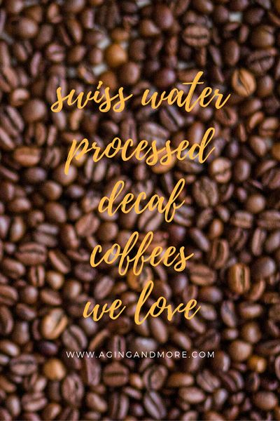 Are you needing to switch to decaf coffee?  Unsure which brands offer Swiss water processed decaf coffee options?  In our post we're sharing our top 5 picks for SWP decaf! Click through now to find out which made our list!