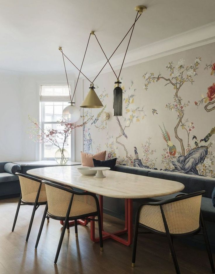 46 Inspirierende Mid Century Esszimmer Dekor Ideen Diy Und Deko Dining Room Decor Dining Room Design Modern Dining Room