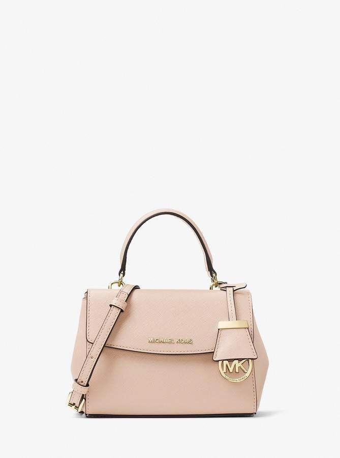 b2fda400f639 MICHAEL Michael Kors Ava Extra-Small Saffiano Leather Crossbody   Designerhandbags