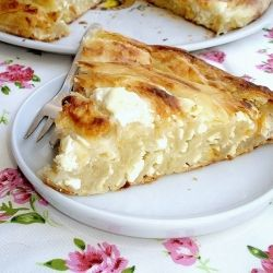 Cottage cheese pie (recipe in Croatian and in English)