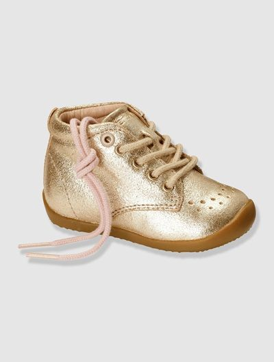 Baby Girl's First Steps Ankle Boots