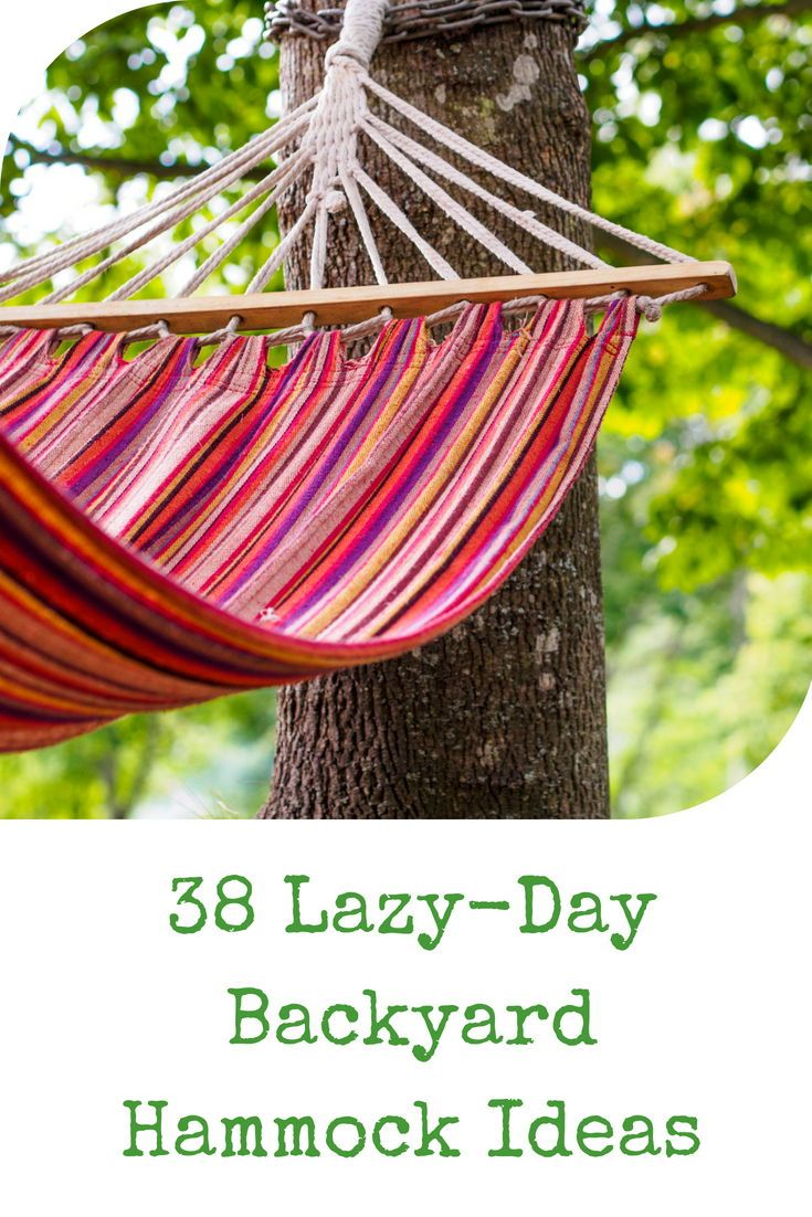 38 Lazy Day Backyard Hammock Ideas Backyard Hammock Garden Swing Hammock Hammock