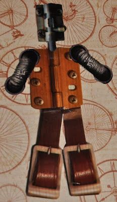 by Lyneen for VLVS! Using our EXCLUSIVE Xtapes - get them in hinge, o-ring, strap, or bolt!Steampunk Tapeman
