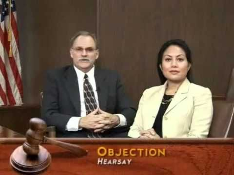 Using and Objecting to Evidence at Trial - YouTube