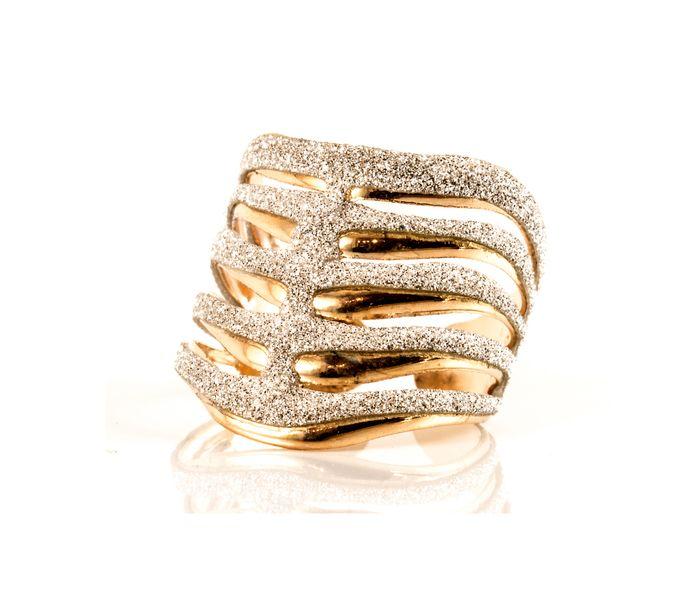 Bizsu Gyűrűk Bubblyne arany ezüst